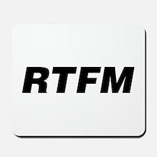 RTFM: Mousepad