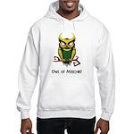 Owl of Mischief Hooded Sweatshirt