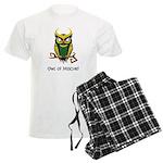 Owl of Mischief Men's Light Pajamas