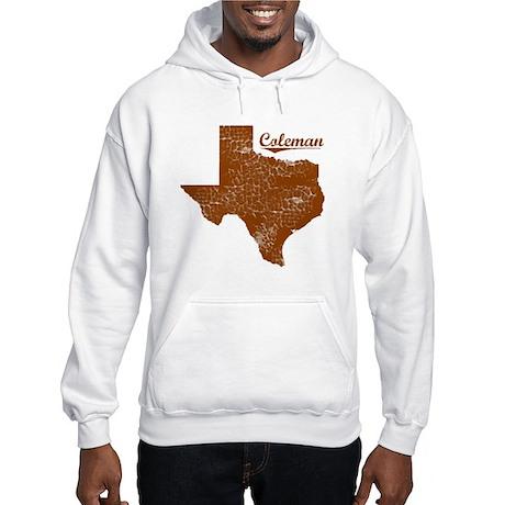 Coleman, Texas (Search Any City!) Hooded Sweatshir