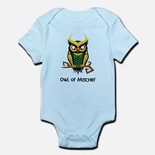 Owl of Mischief Infant Bodysuit