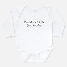 Cute Hotrods Long Sleeve Infant Bodysuit