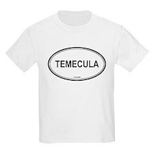 Temecula oval Kids T-Shirt