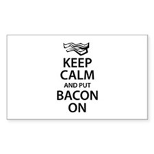 Keep Calm and put Bacon On Decal
