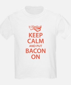 Keep Calm and put Bacon On T-Shirt