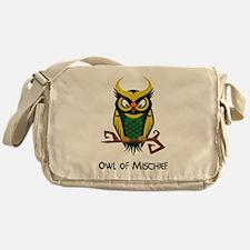 Owl of Mischief Messenger Bag