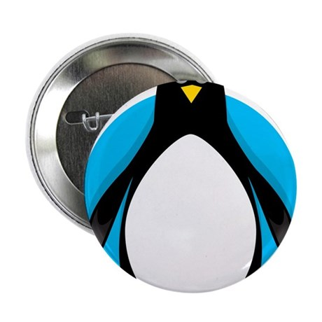 "Fat Penguin 2.25"" Button"