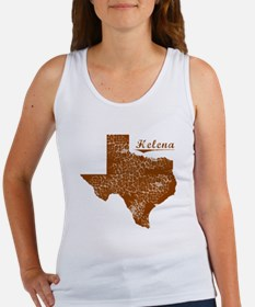 Helena, Texas (Search Any City!) Women's Tank Top