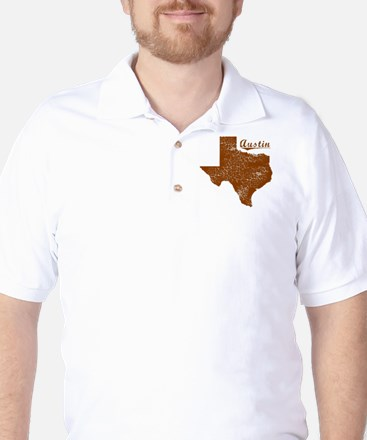 Austin, Texas (Search Any City!) Golf Shirt