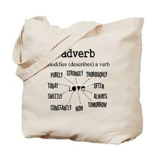 Maternity Adverb Tote Bag