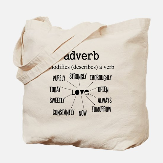 Maternity Adverb Tote Bag