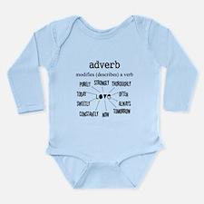 Maternity Adverb Long Sleeve Infant Bodysuit