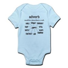 Maternity Adverb Infant Bodysuit