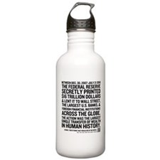 Fed Bailout Water Bottle