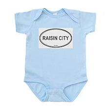 Raisin City oval Infant Creeper