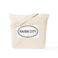 Raisin City oval Tote Bag