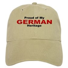 Proud German Heritage Baseball Cap