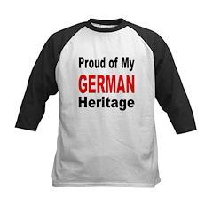 Proud German Heritage Kids Baseball Jersey