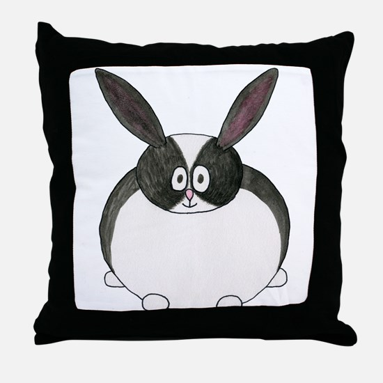 Dutch Rabbit. Throw Pillow
