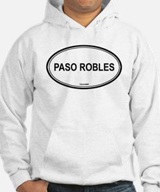 Paso Robles oval Hoodie