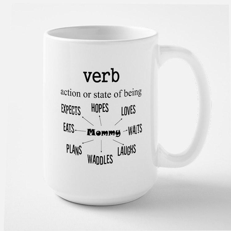 Verb Maternity Large Mug