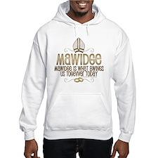 Princess Bride Mawidge Wedding Hooded Sweatshirt