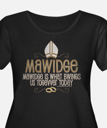 Princess Bride Mawidge Women's Plus Size Shirt