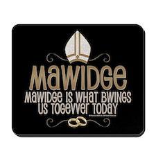 Princess Bride Mawidge Wedding Mousepad