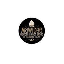 Princess Bride Mawidge Wedding Mini Button