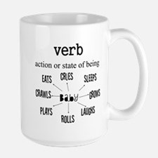 Maternity Verb Baby Mug