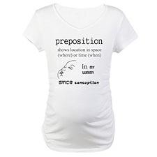 Maternity Preposition Shirt