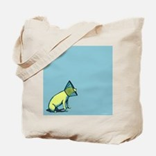 Elizabethan Collar Dog Tote Bag