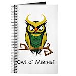 Owl of Mischief Journal