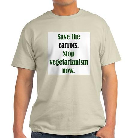 The Anti-Vegetarian Ash Grey T-Shirt