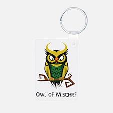 Owl of Mischief Keychains