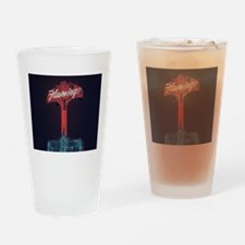 Vintage Flamingo Hotel Las Ve Drinking Glass