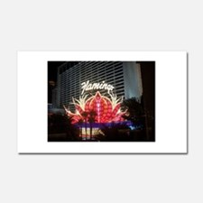 The Flamingo Hotel and Casino Car Magnet 20 x 12