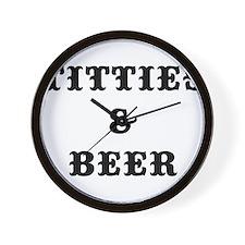 T B Wall Clock