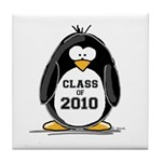 Class of 2010 Penguin Tile Coaster