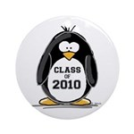 Class of 2010 Penguin Ornament (Round)
