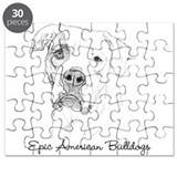 American bulldog Puzzles