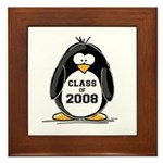 Class of 2008 Penguin Framed Tile