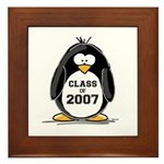 Class of 2007 Penguin Framed Tile
