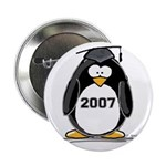 2007 Graduate Penguin Button