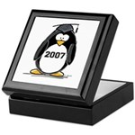 2007 Graduate Penguin Keepsake Box