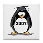 2007 Graduate Penguin Tile Coaster
