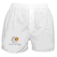 Non-Disposable Pets Boxer Shorts