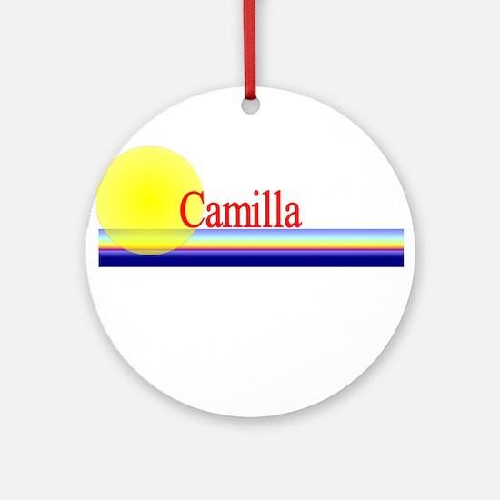 Camilla Ornament (Round)