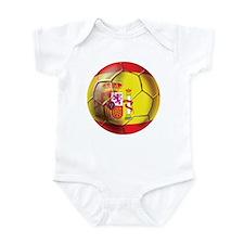 Spanish Futbol Infant Bodysuit