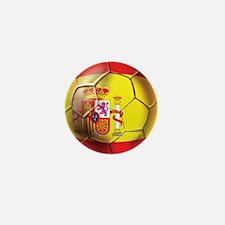 Spanish Futbol Mini Button